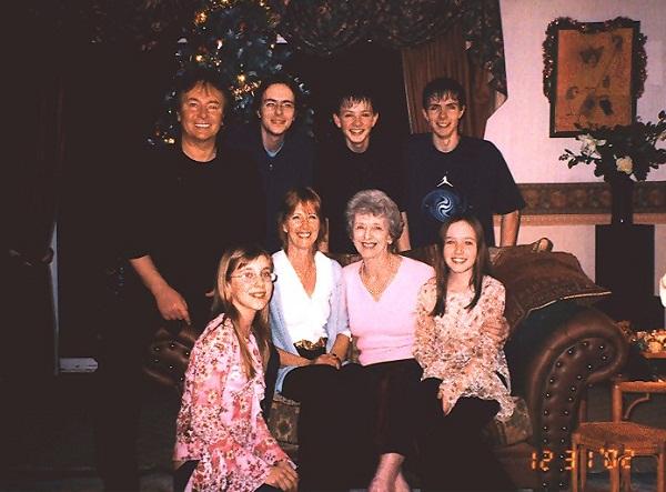 Крис Норман с семьей женой и детьми фото