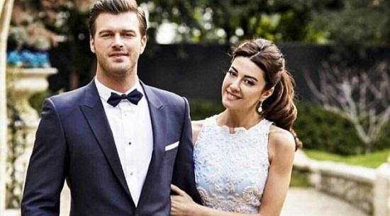 Кыванч Татлытуг с женой Башак Дизер фото