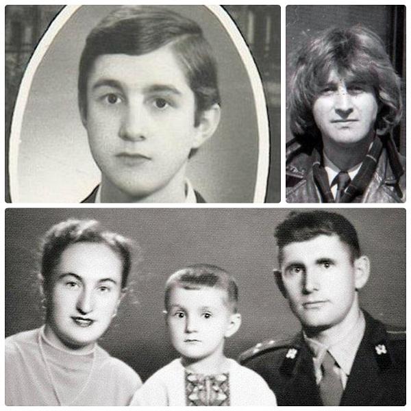 Леонид Ярмольник с родителями в детстве и молодости фото