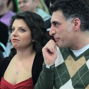 Маргарита Симоньян с гражданским мужем Тиграном Кеосаяном фото