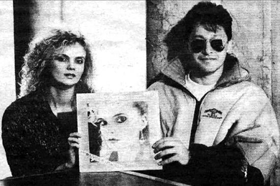 Марина Журавлёва с бывшим мужем