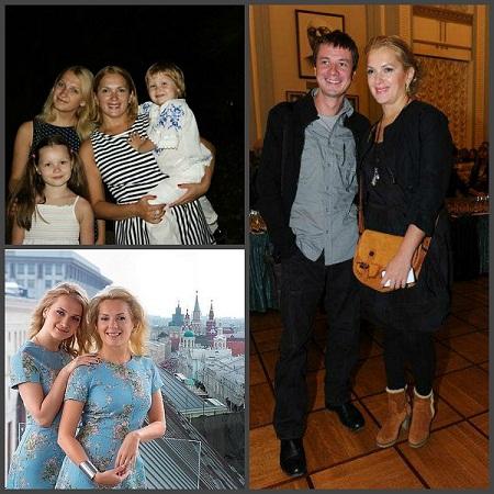 Мария Порошина муж дети семья дочери фото