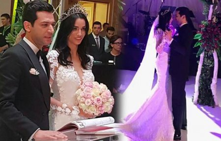 Фото со свадьбы Мурата Йылдырыма и Имане Эльбани