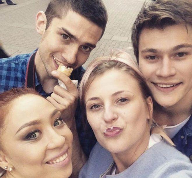 Олег Гаас с друзьями фото