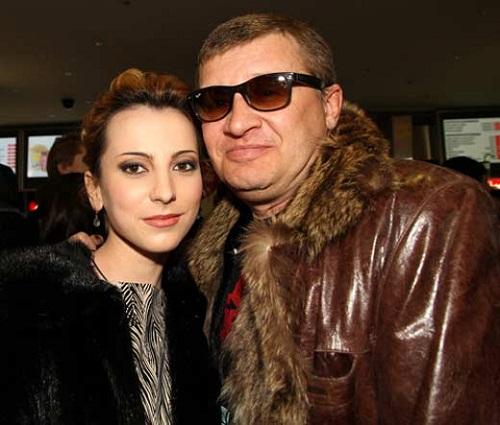 Олег Фомин с женой Таней фото