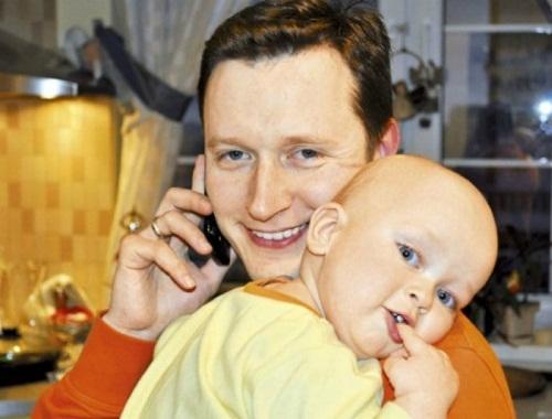 Марии Ситтель с их обзим сыном Саввой фото