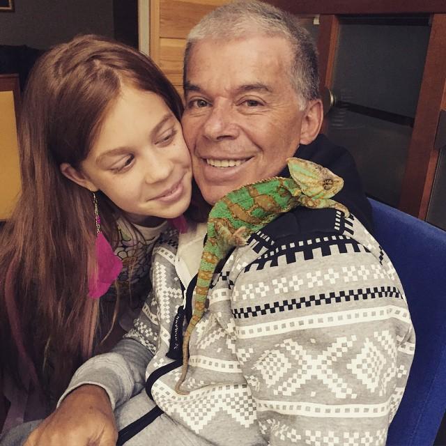 Олег Газманов с дочерю Марианной фото