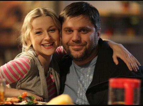 Ольга Медынич с мужем Джемалом Тетруашвили фото