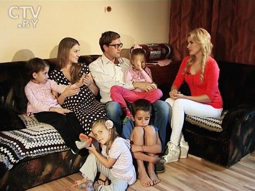 Павел Харланчук с семьей женой и детьми фото