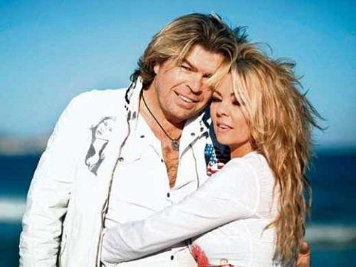 Певица Сандра со вторым мужем Олафом Менгесом фото