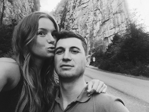 Полина Филоненко с гражданским мужем Андреем фото
