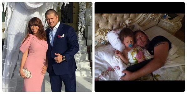 Ренат Агзамов с семьей женой и сыном фото