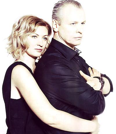 Сергей Юшкевич с женой Еленой фото