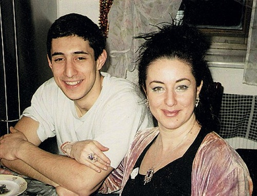 Тамара Гвердцители с сыном фото