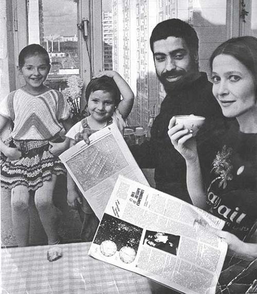 Тамара Глоба с бывшим мужем и детьми фото