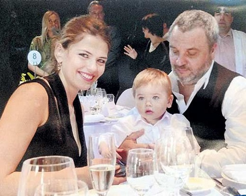 Юлия Галкина с семьей мужем и сыном фото