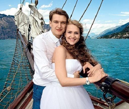Анатолий Руденко с супругой Еленой Дудиной фото