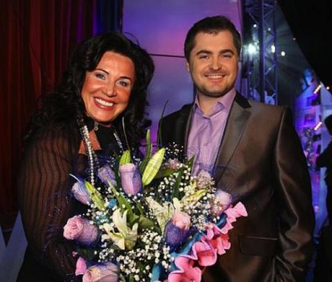 Надежда Бабкина и её фактический муж Евгений Гор фото