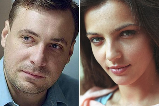Евгений Цыганов с женой Ириной Леоновой фото