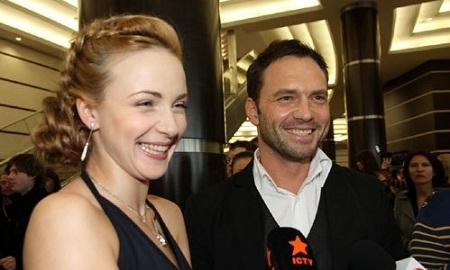 Анна Снаткина с мужем Виктором Васильевым фото