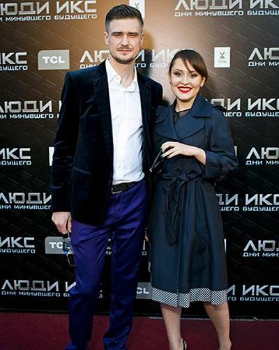 Мария Кравченко с мужем Константином Золотаревым фото