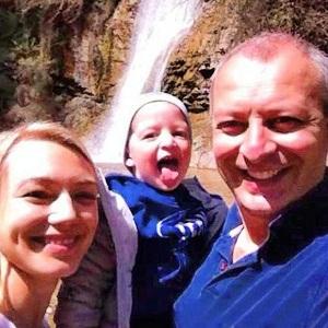 Оксана Акиньшина с семьей: сыном Константином и мужем Арчилом Геловани фото