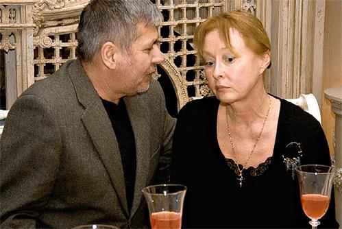 Лариса Удовиченко с Геннадием Болгарином