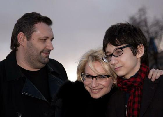 Эвелина Хромченко с мужем и сыном фото