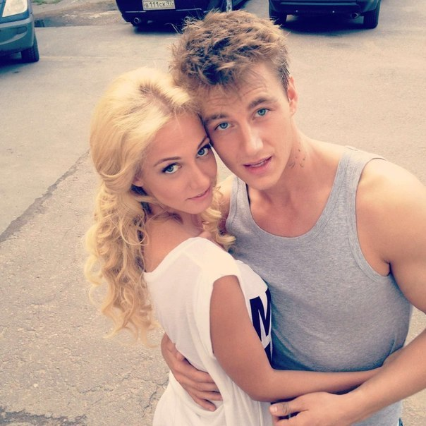 на фото Полина Максимова и Алексей Воробьев