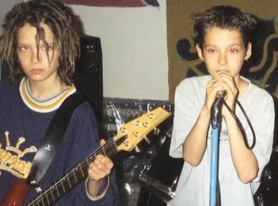 Братья Каулитц в начале своей музыкальной карьеры