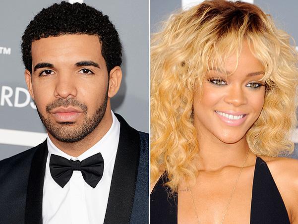 Рианна и рэпер Дрейка (Drake) фото