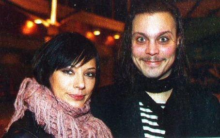 Вилле Вало (Ville Valo) с Йонной Нюгрен (Jonna Nygren)
