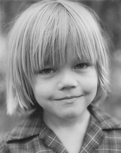 Леонардо Ди Каприо в детстве