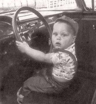 Вилле Вало в глубоком детстве