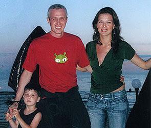 Игорь Верник с семьей:  бывшей женой Марией и сыном ajnj