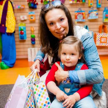 Марина Могилевская с дочерью Марией фото